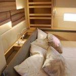 SHIPMAN 59 - OWNER (vzglavje, okrasni vzgalvniki, rob postelje, paneli, vzmetnica,..)